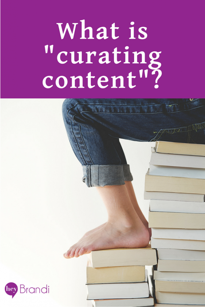Curating content helps you connect with your audience, participate in conversations, and share expertise. It's also a great way to build social media content without driving yourself crazy creating original content.