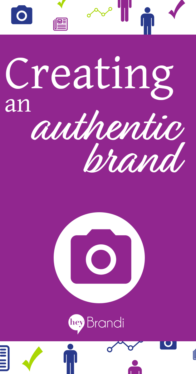 Creating an authentic brand is important for entrepreneurs, solopreneurs and small businesses. Learn what an authentic brand is, beyond just your logo and brand colors in this post from HeyBrandi.com