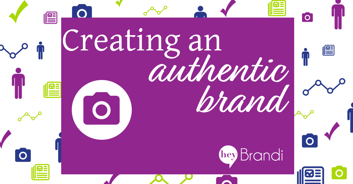 Creating an authentic brand is important for entrepreneurs, solopreneurs and small businesses. Learn what an authentic brand is, beyond just your logo and brand colors in this post from minimumviablemarketing.com