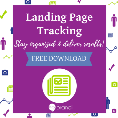 How to Track Your Landing Pages