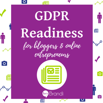 GDPR for Bloggers and Online Entrepreneurs