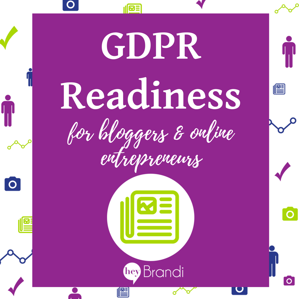 GDPR for Bloggers and Online Entrepreneurs