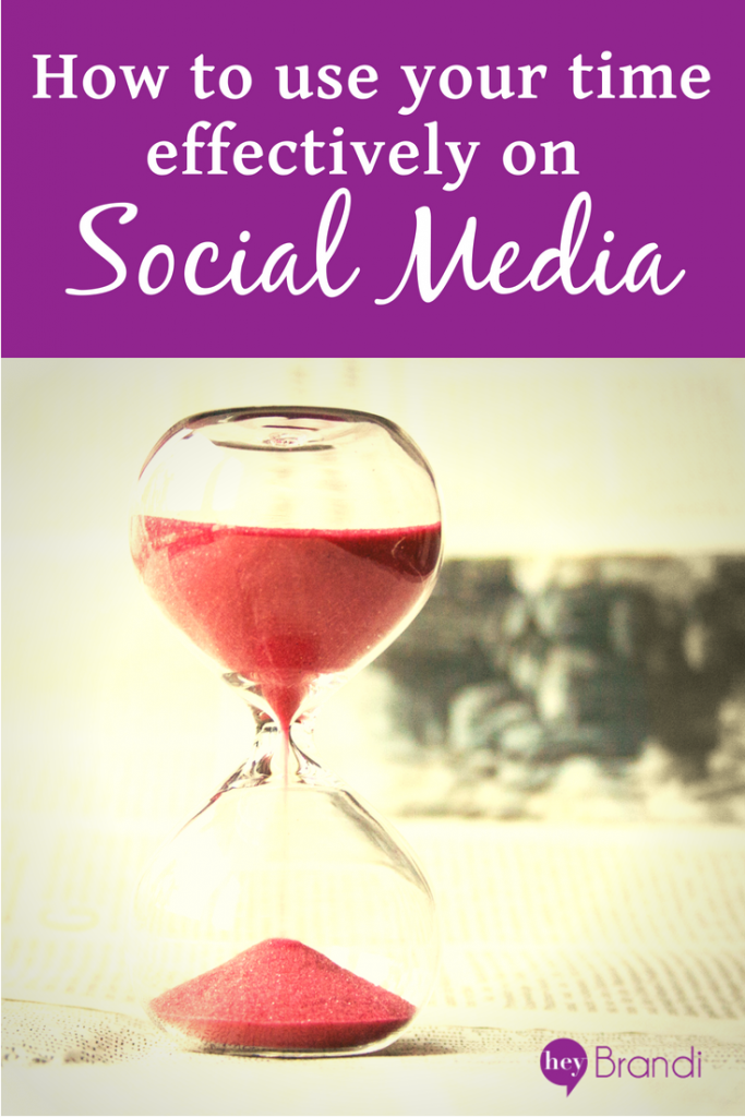how to use your time effectively on social media