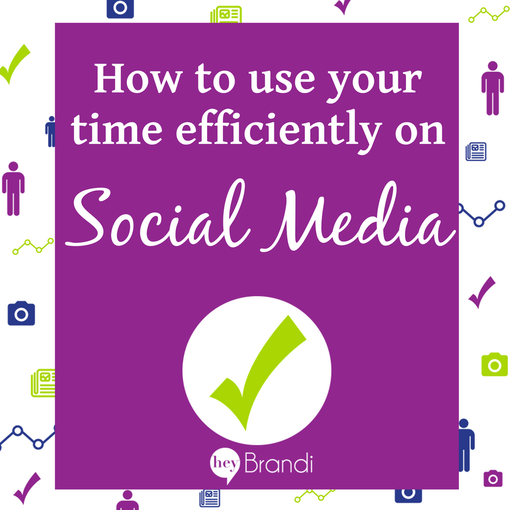 How to use your time efficiently on social media