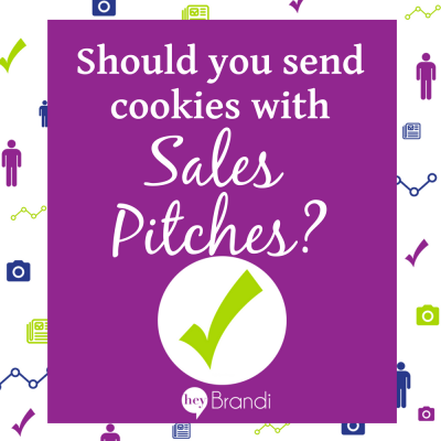 Should You Send Cookies with Sales Pitches?