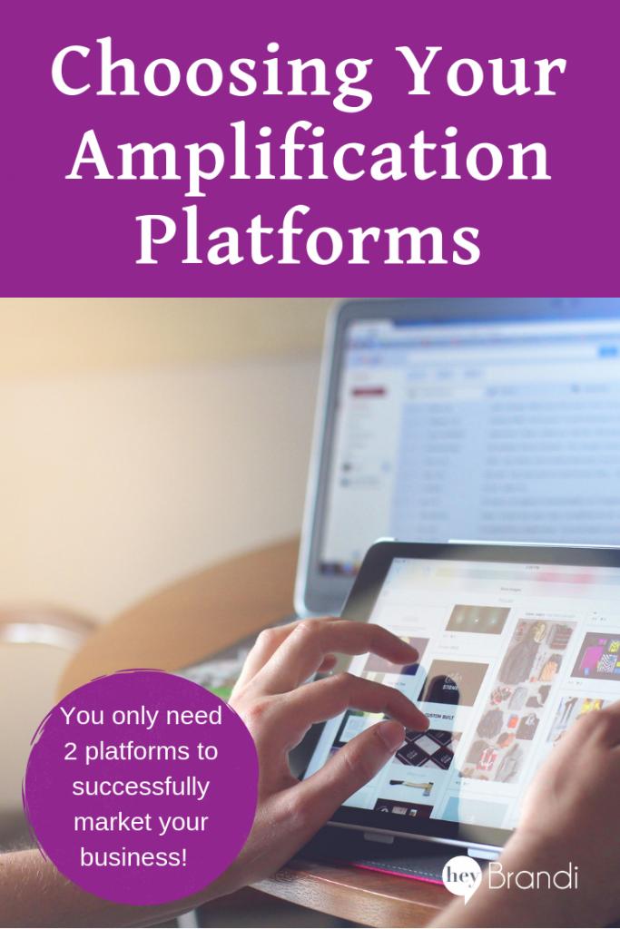 Picking Amplification Platforms