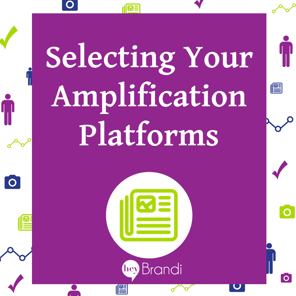 Selecting Your Amplification Platforms