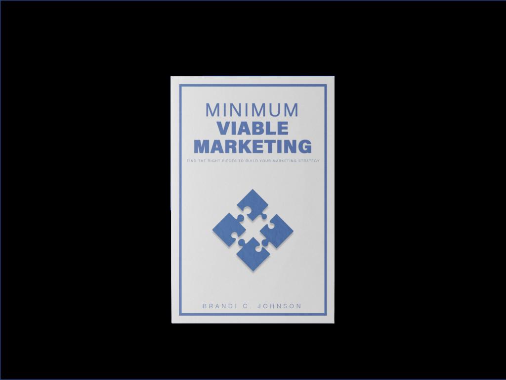 3D cover of Minimum Viable Marketing