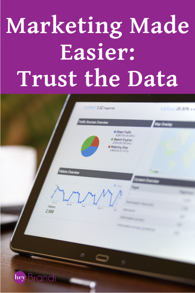 Marketing Made Easier: Trust the Data