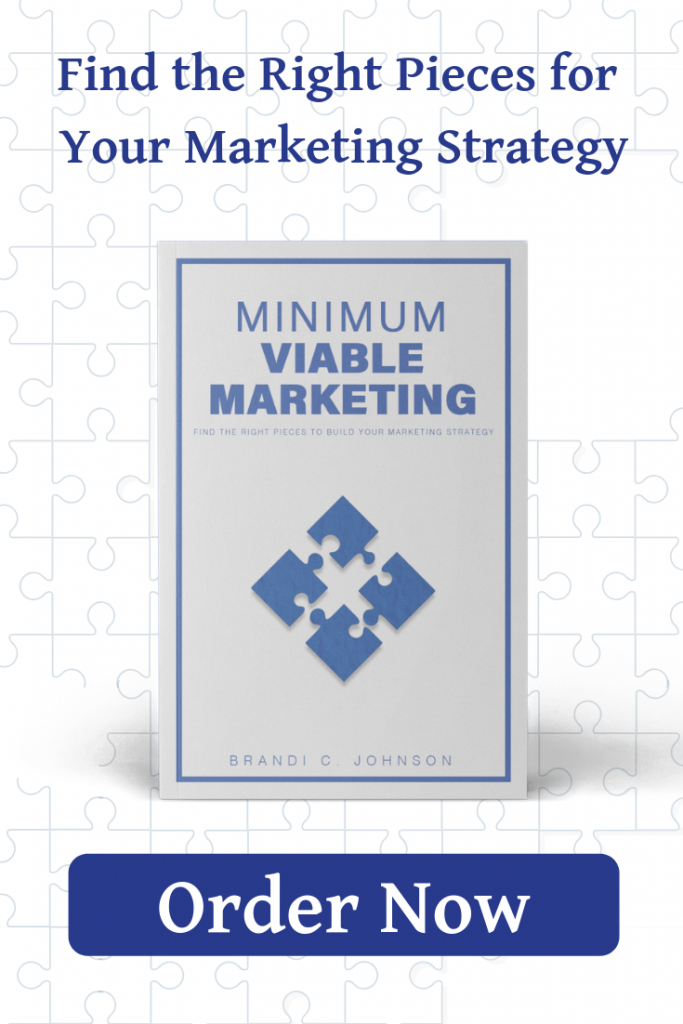 Order Minimum Viable Marketing Now