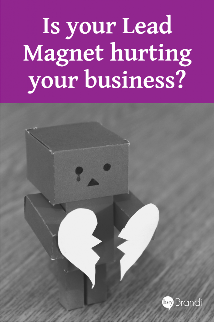 Is your lead magnet hurting your business?