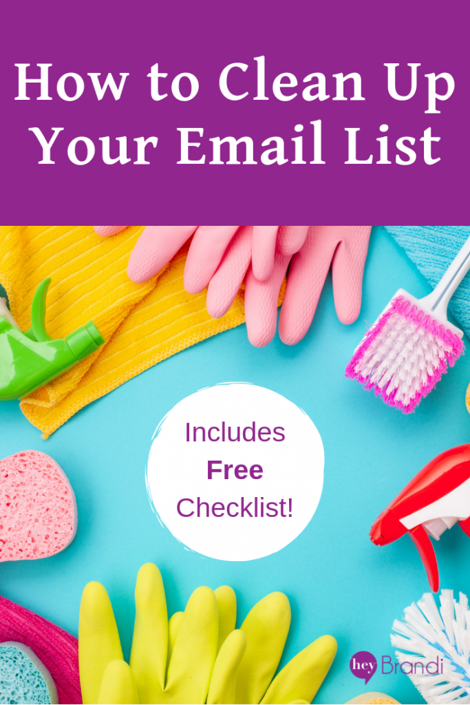 How to Clean Up Your Email List - With Free Checklist