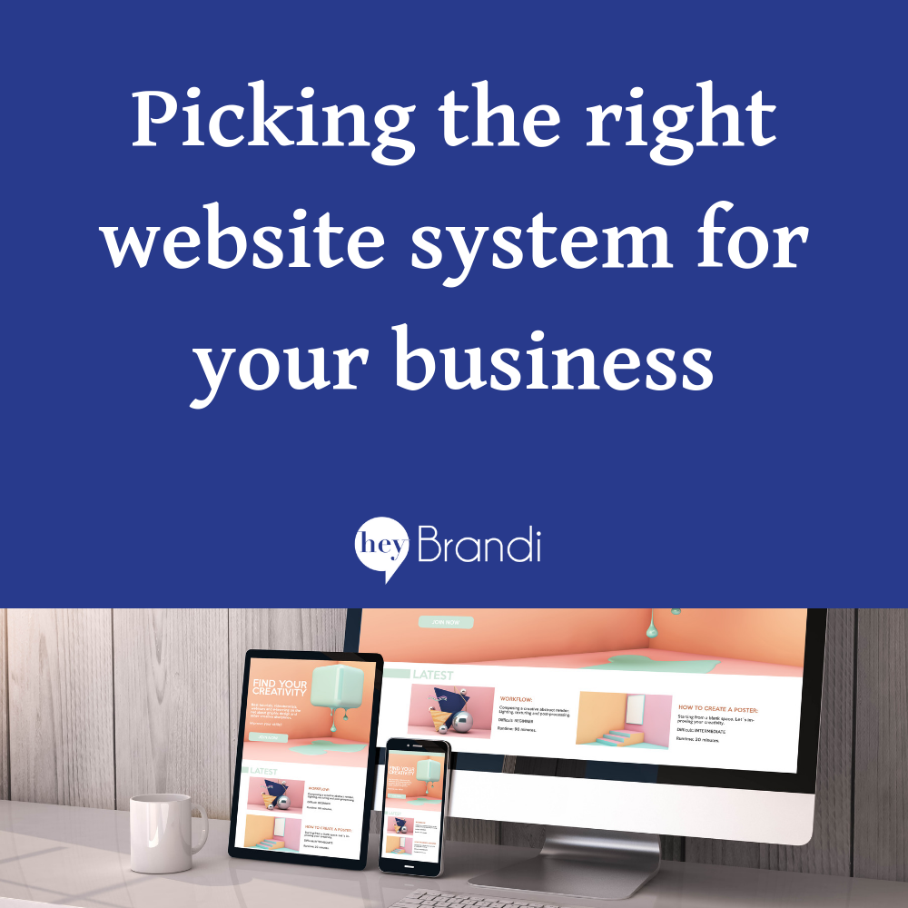 Picking the Right Website Management System for Your Small Business