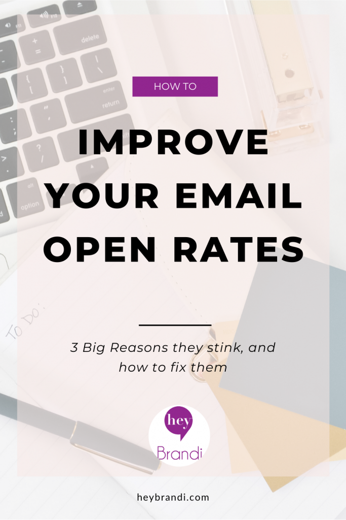 Improve your email open rates