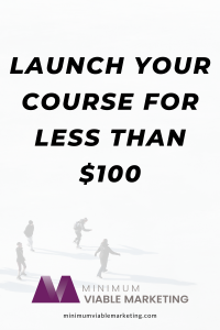 Launch your course for less than $100